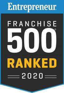Entrepreneur Franchise 500 Ranked 2020