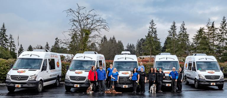 Mobile Grooming Vans